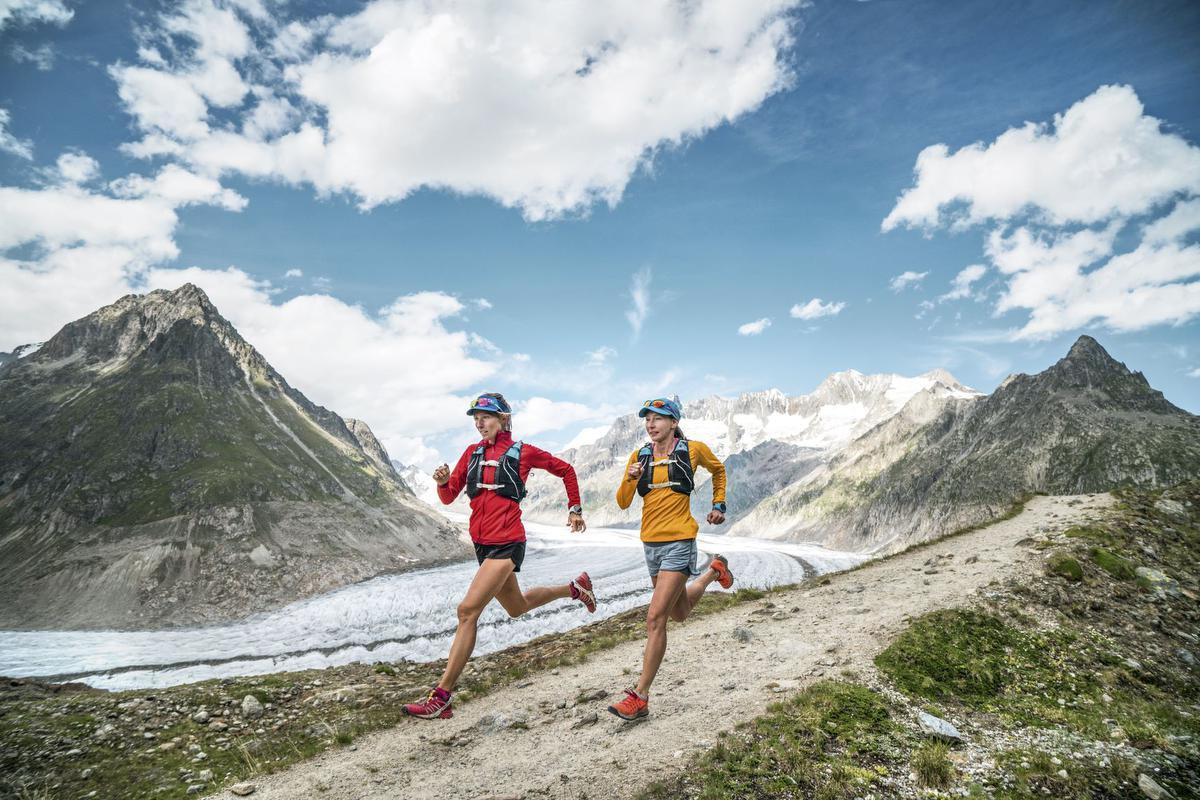 Trail langs de Aletschgletscher, PatitucciPhoto
