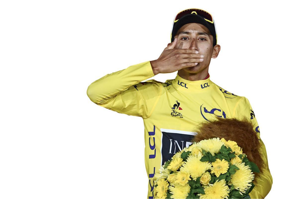 Egan Bernal was de beste in de Ronde van Frankrijk. Een jongere met ambitie., BELGAIMAGE