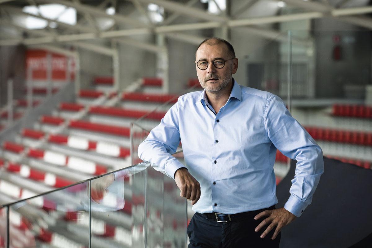 Eddy Cordier: 'Partners en sponsors van veel clubs hebben het bijzonder moeilijk. Dat zal een grote impact hebben op de budgetten die allicht bij alle clubs zullen krimpen.', BELGAIMAGE