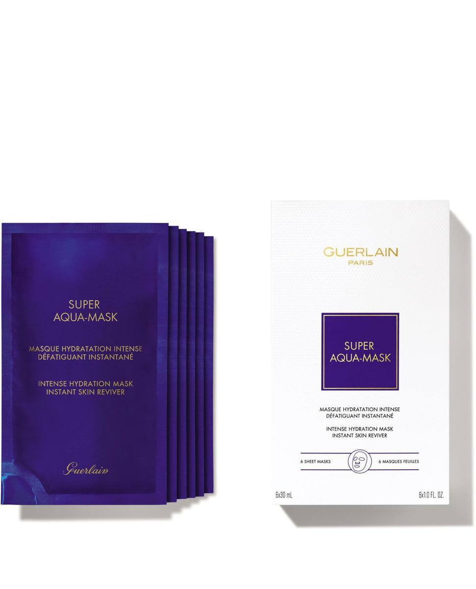 Super Aqua Mask, Guerlain, 112,50 euros la boîte de six., SDP