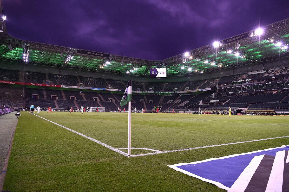 Beeld van Borussia Mönchengladbach - 1. FC Köln op 11 maart 2020., BELGAIMAGE
