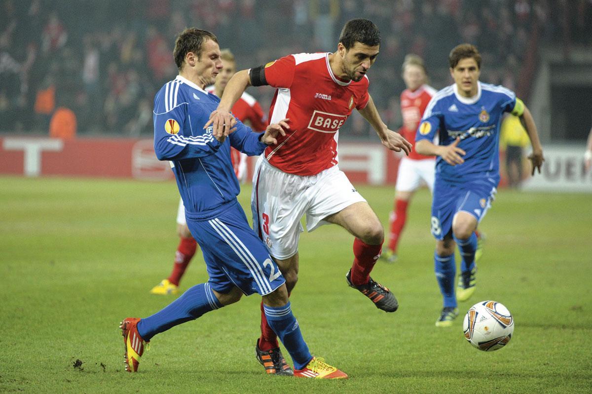 Avec le Standard, en Coupe d'Europe., BELGAIMAGE