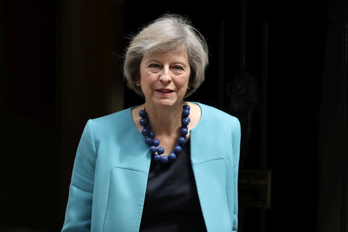 Theresa May, Getty Images