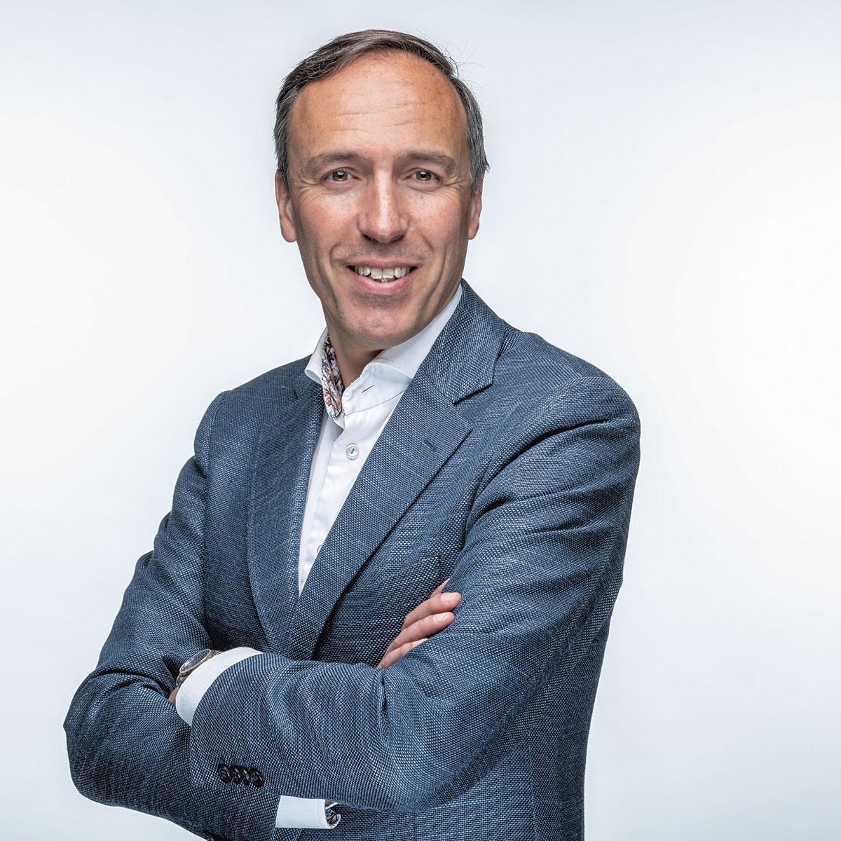 """Joost Uwens, CEO de WDP: """"La demande d'espace de stockage va augmenter en raison de l'importance croissante de la sécurisation des approvisionnements."""", rvb"""
