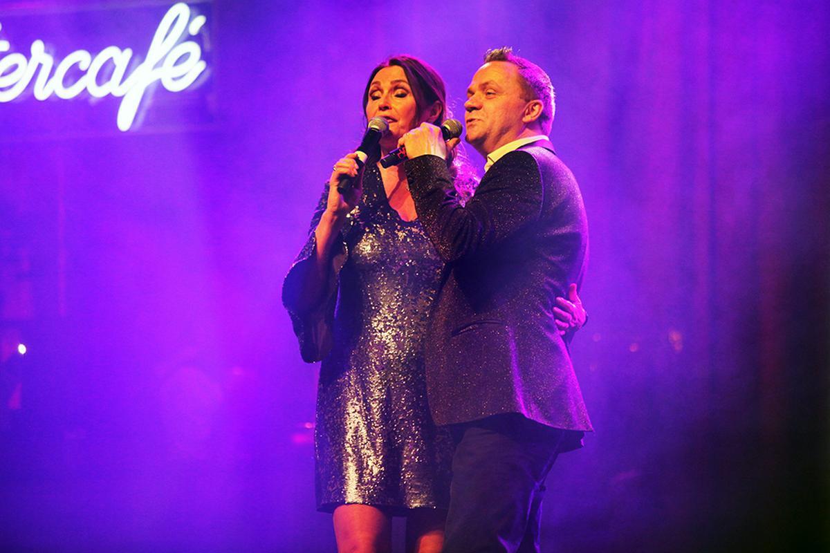 Natuurlijk mocht een duet met Steve Tielens ook niet ontbreken., PADI/Daniël