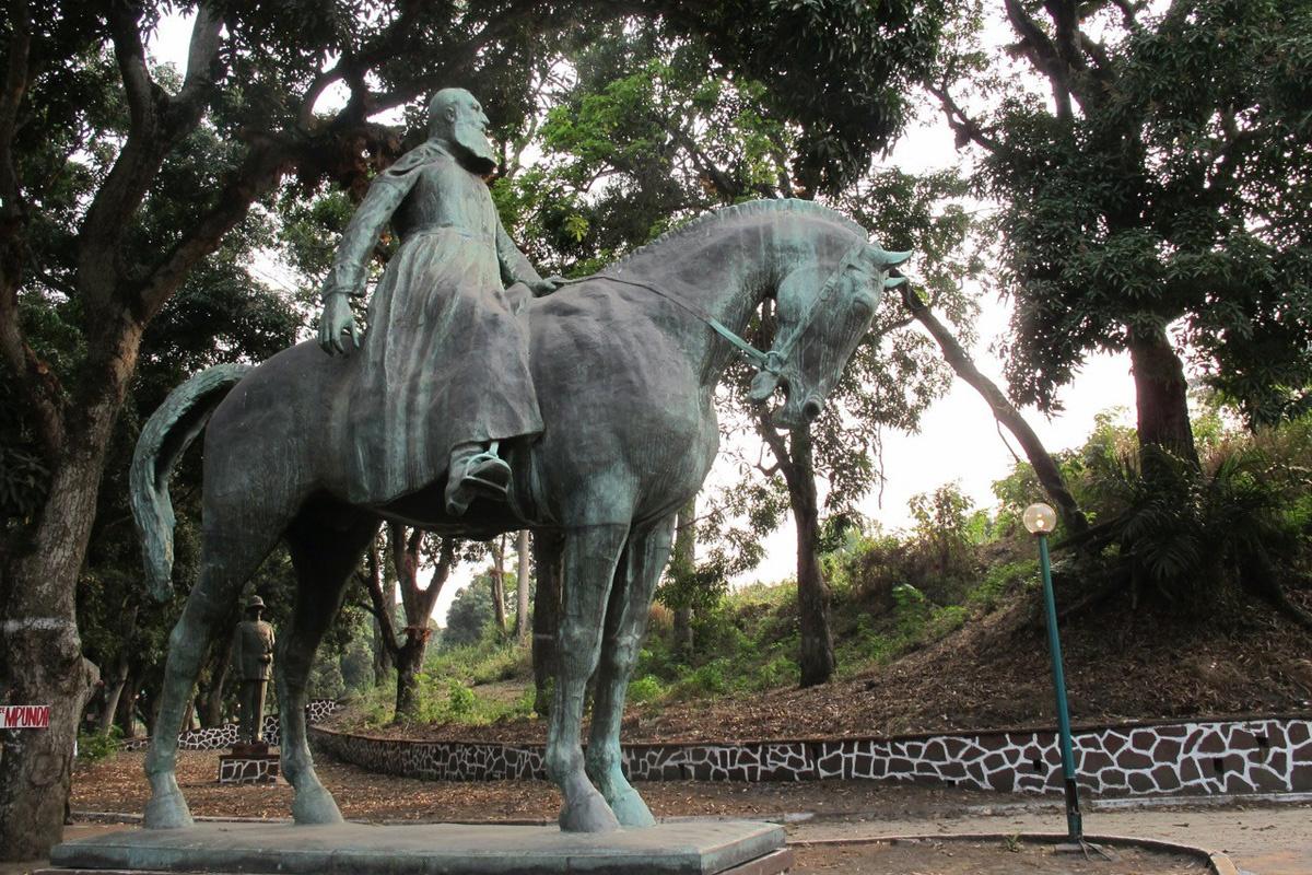 Standbeeld Leopold II in Congo, Peter Verlinden