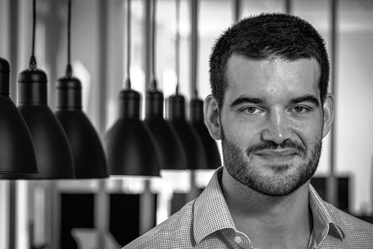 Kevin de Patoul, CEO de Keyrock, Danny Gys (Isopix)