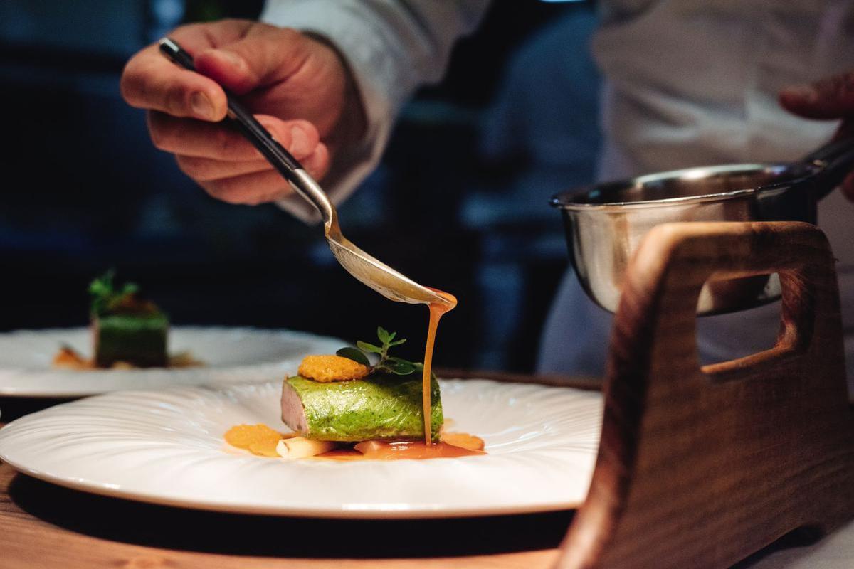 Chef gastronomique Franck Reynaud, Silvano Zeiter