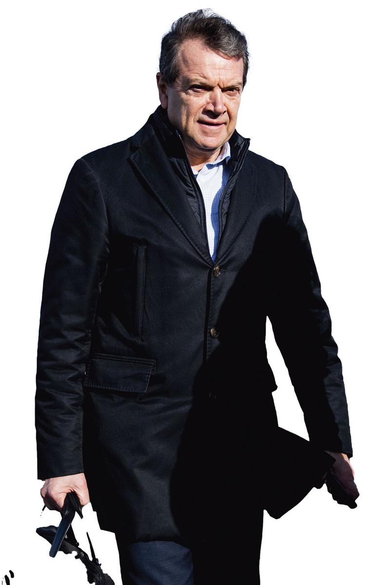 """Michel Louwagie: """"Cinq ou six personnes viennent chaque jour pour une demi-journée."""", belgaimage"""