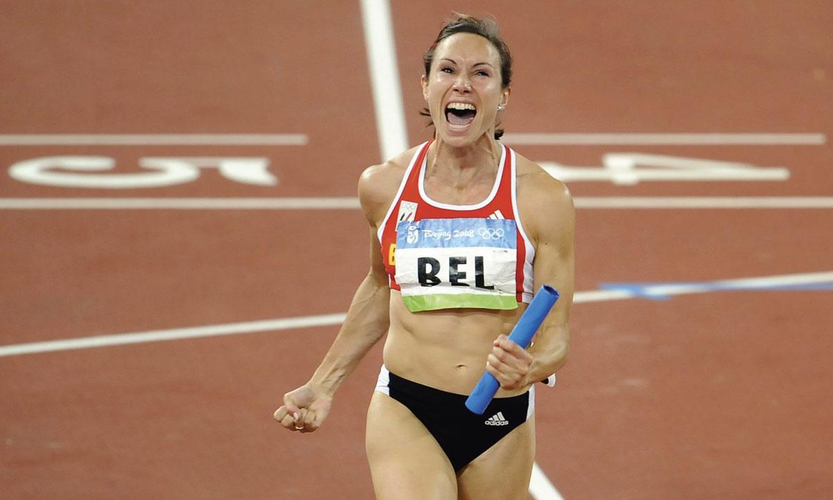 Une médaille d'argent sur le 4 X 100 aux Jeux de Pékin qui va se transformer en or., KOEN BAUTERS