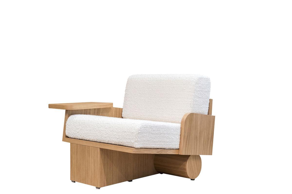 L'un des fauteuils créés pour cet espace de coworking., SDP / JULES CÉSUR