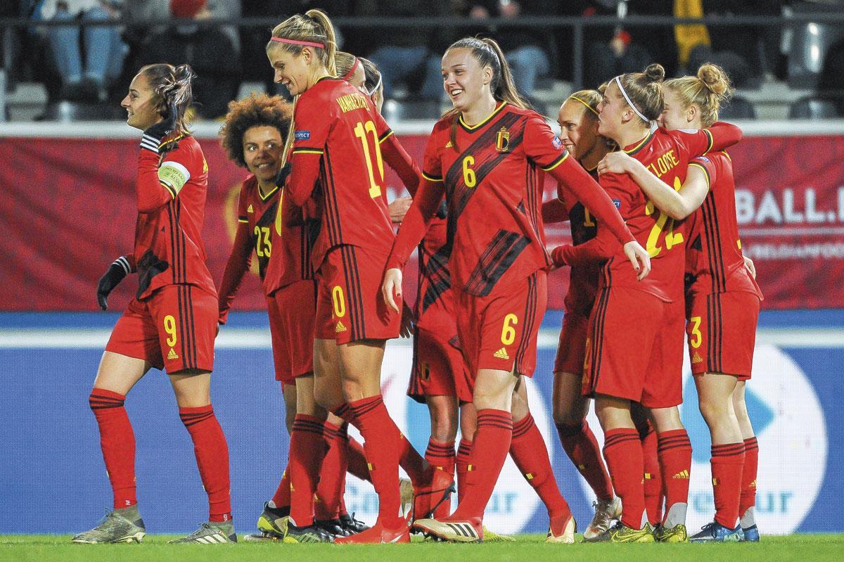 Les Red Flames ont loupé le Mondial l'année passée mais visent désormais l'EURO anglais., BELGAIMAGE