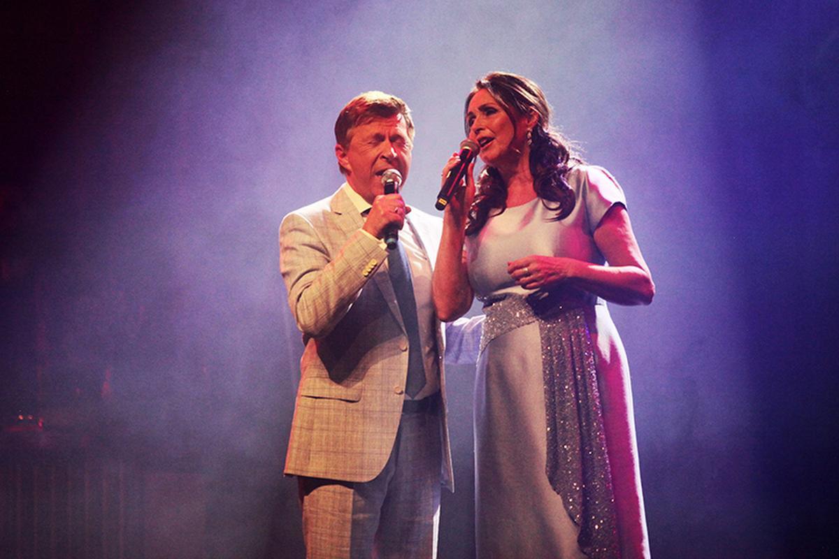 Samen met Jo Vally op het podium., PADI/Daniël