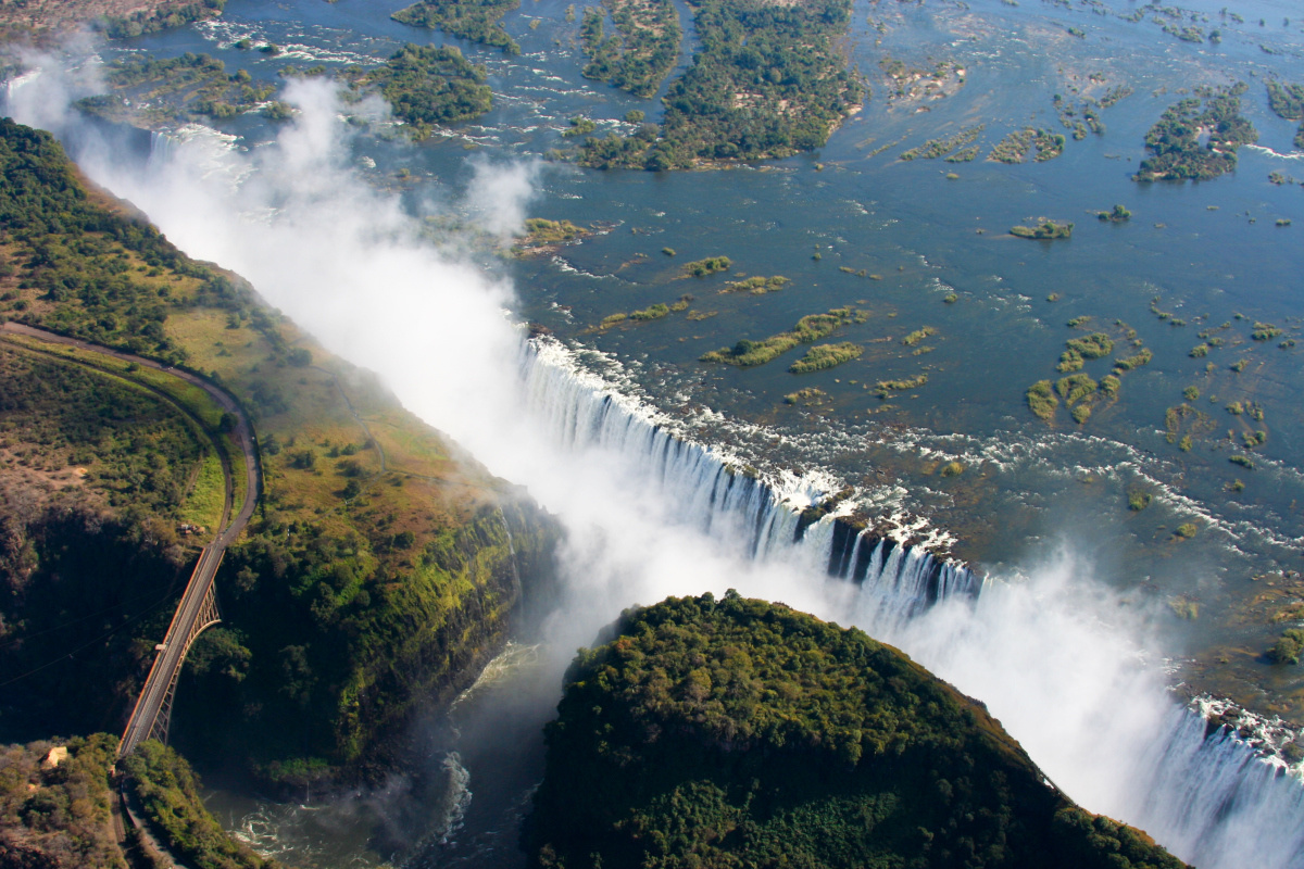 Victoria Falls, Getty Images