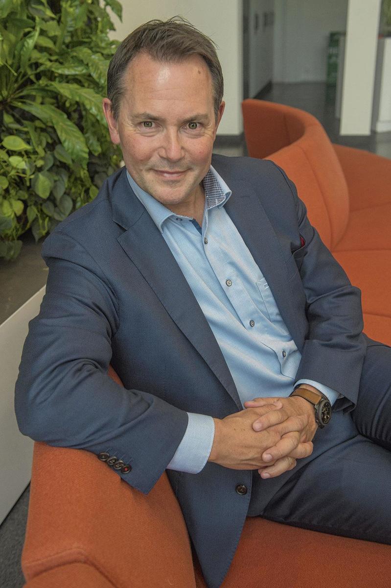 Jan Bamelis, directeur Roularta HealthCare, JDB