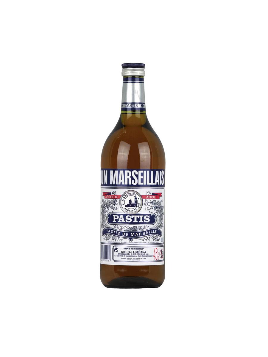 """Le seul """"vrai"""" pastis artisanal de Marseille, 15,90 euros le litre., GETTY IMAGES / SDP"""