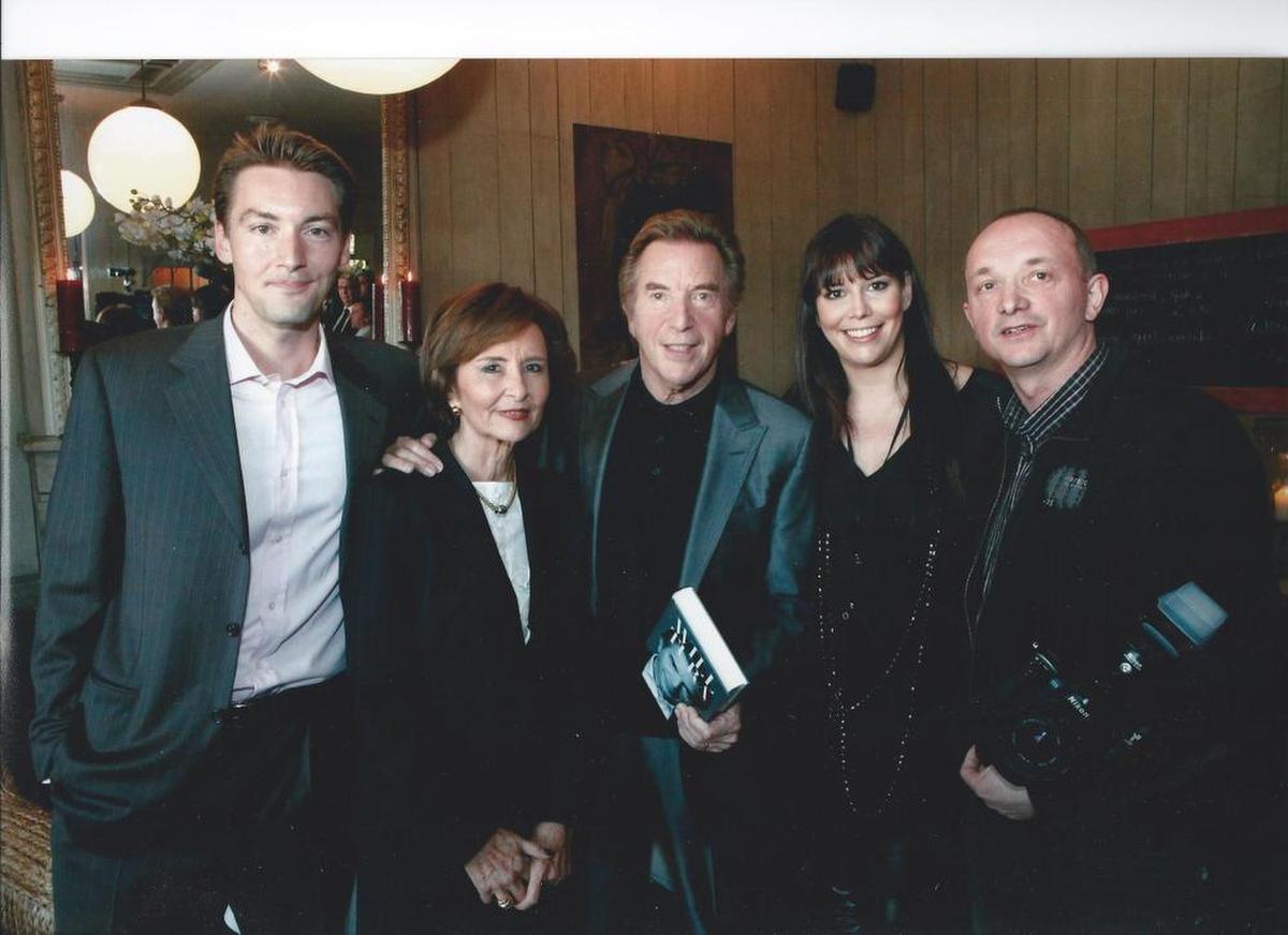 Een unieke foto met het voltallig gezin Blanckaert, inclusief dochter Sandy en zoon David., Kristof Ghyselinck/archief PADI