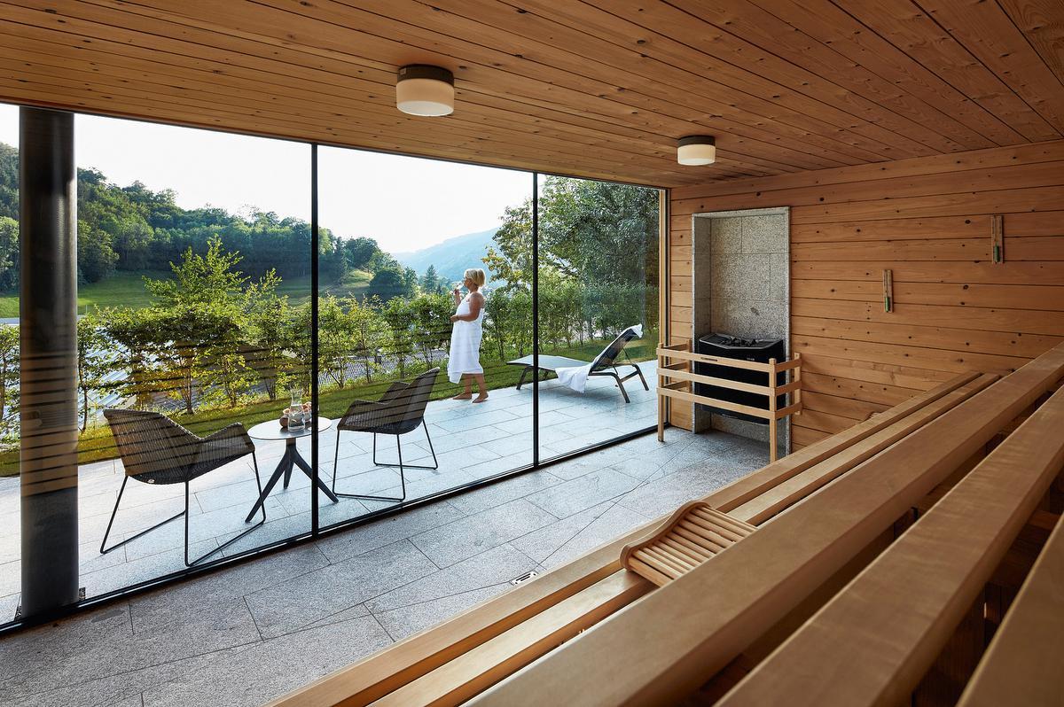 Le sauna de l'hôtel Pfauen., ROLAND KRIEG FOTODESIGN