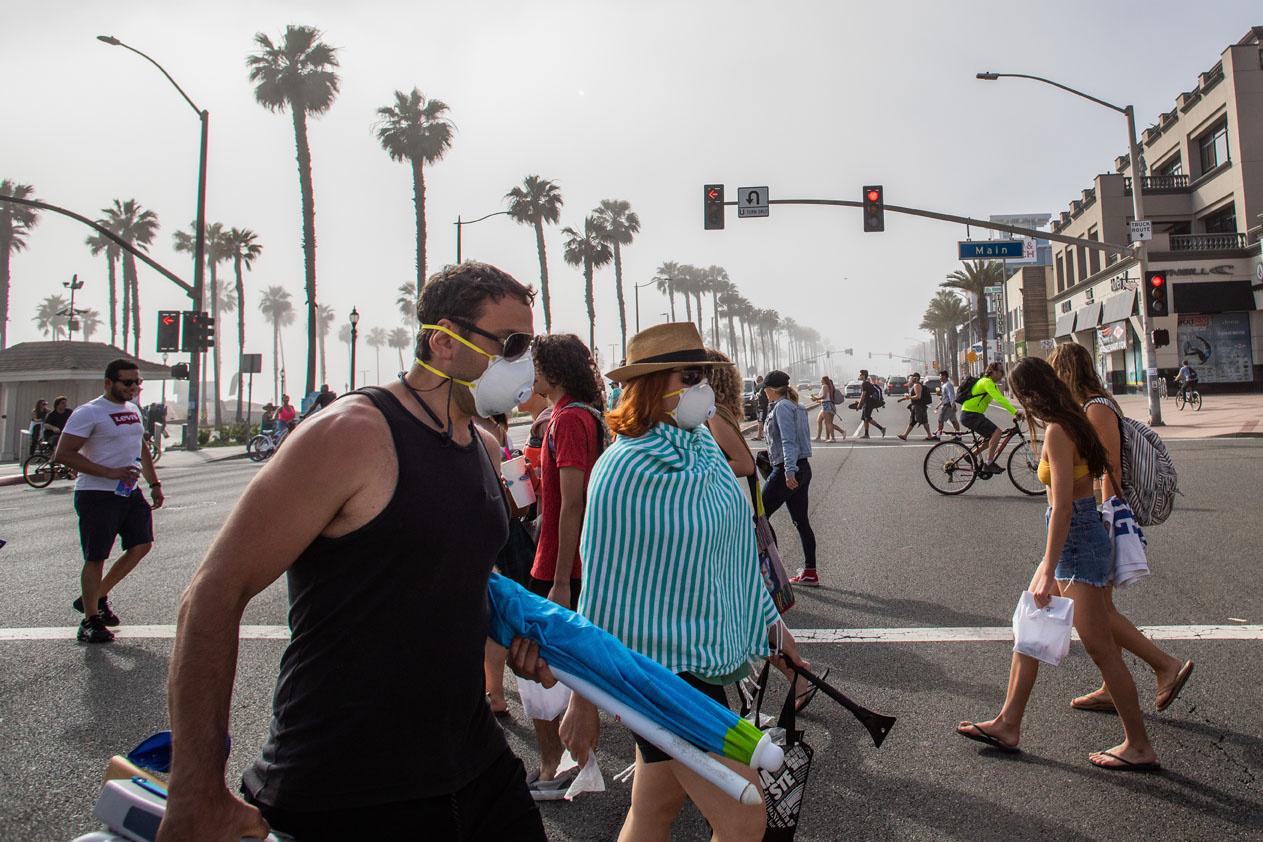 Huntington Beach, USA, le 24 avril 2020, AFP