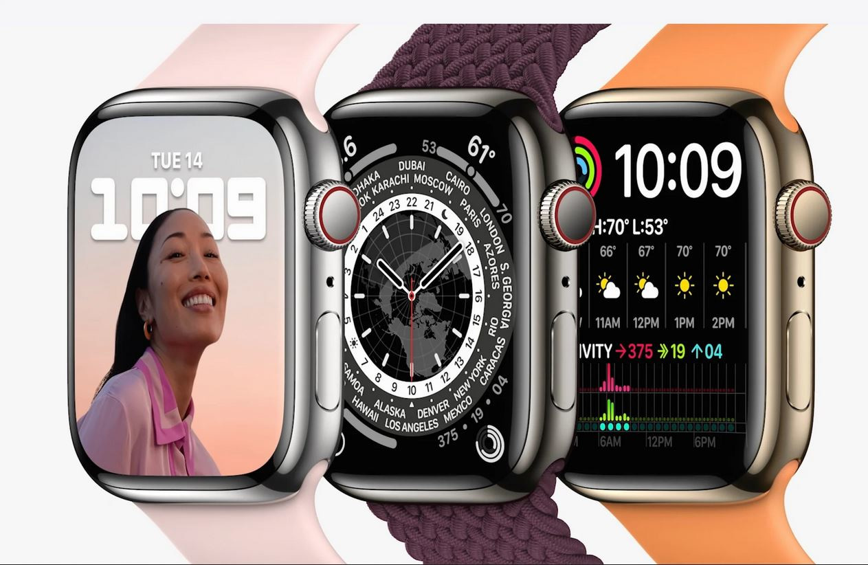 L'Apple Watch Series 7, Apple