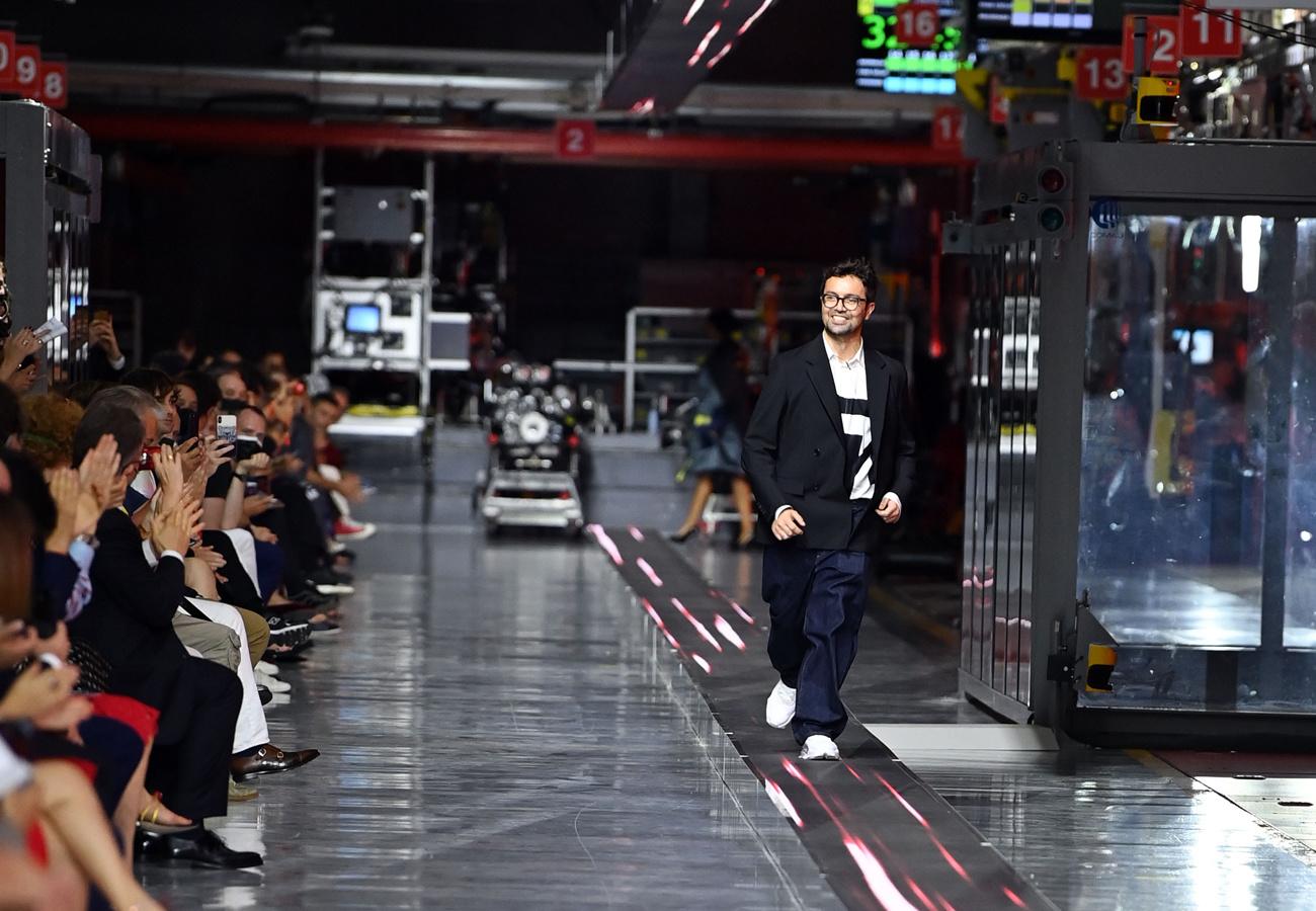 Rocco Iannone, ancien designer de Giorgio Armani et de Dolce & Gabbana., Getty Images