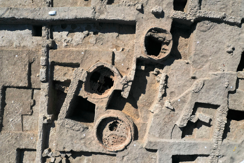 Fouilles menées à Yavné, ville du sud israélien, Belga Images