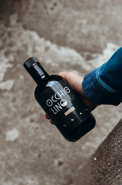 L'huile d'olive Occhiolino, Justin Paquay
