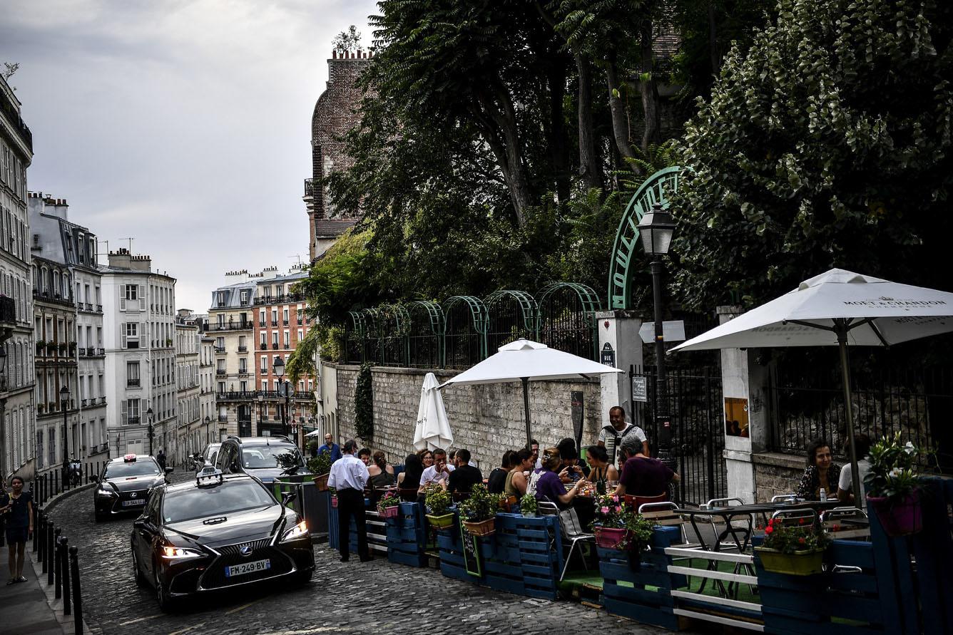 Sur la Butte Montmartre, AFP