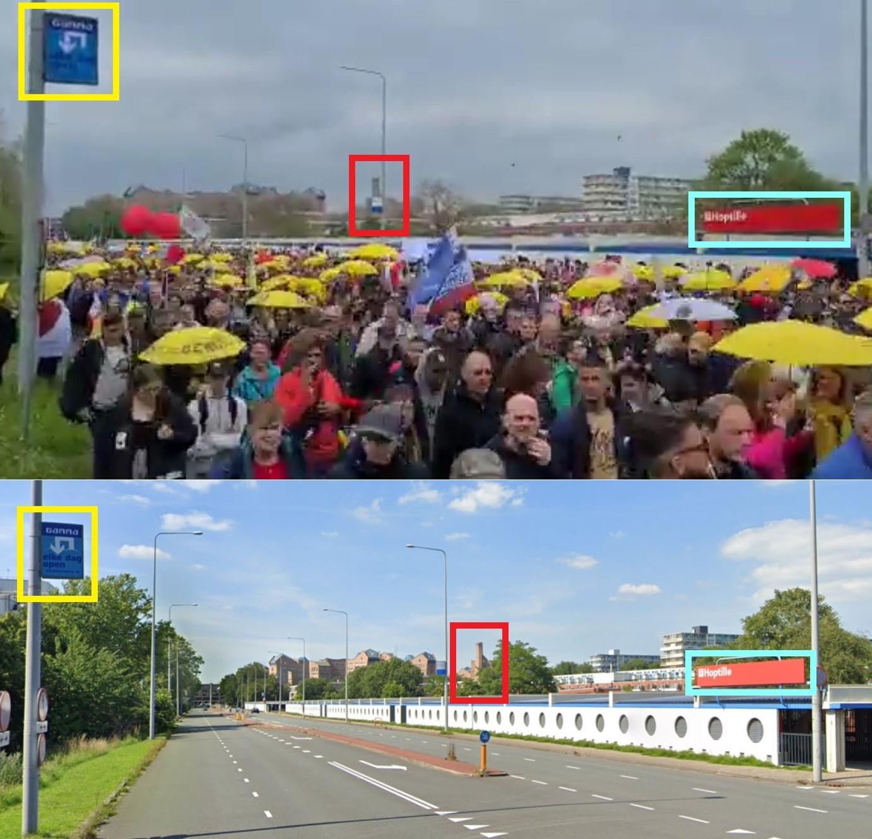 Facebook/Google Maps