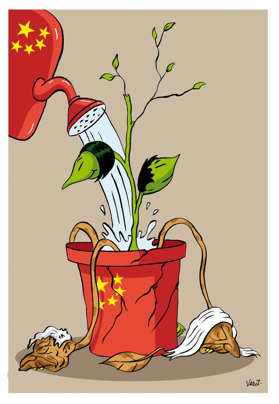 Afin de lutter contre le vieillissement de sa population, la Chine autorise maintenant les parents à avoir trois enfants au lieu de deux, après être déjà revenue sur la politique de l'enfant unique., Vadot