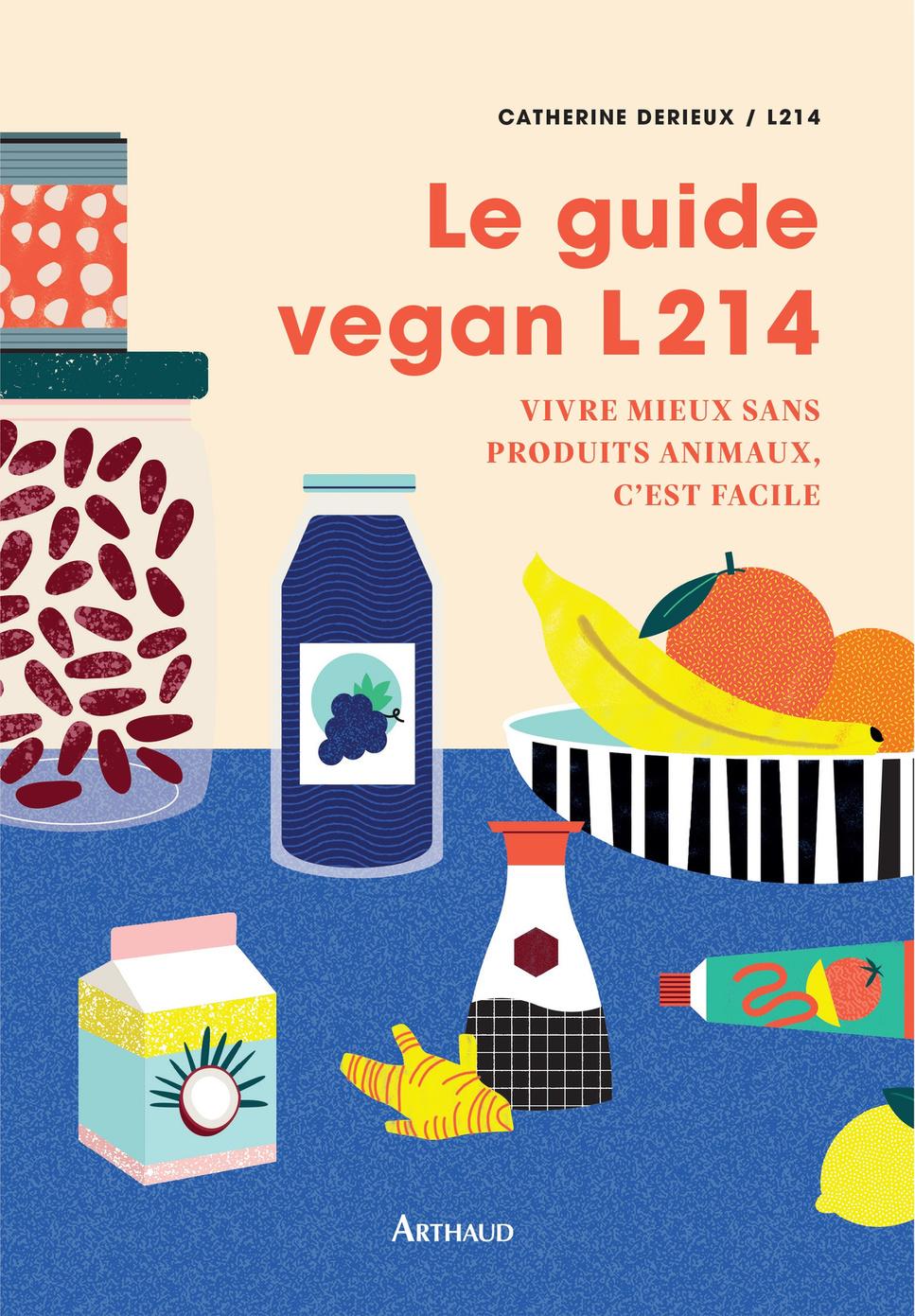 Le Guide vegan L214, DR