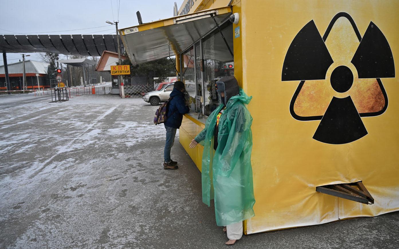 Tchernobyl, décembre 2020, Belga Images