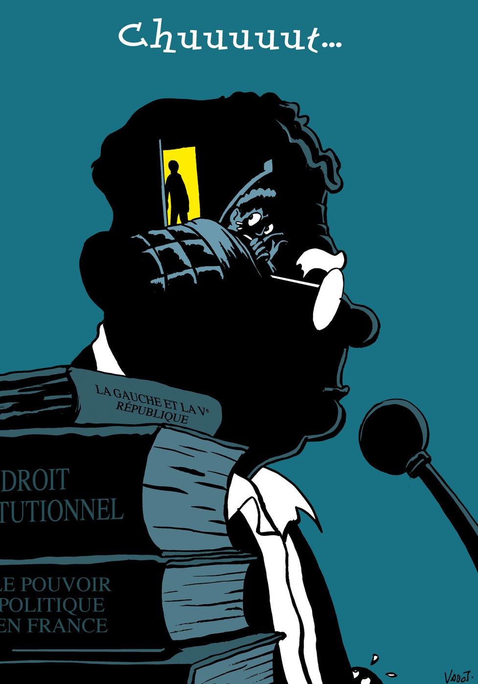 """Le célèbre et médiatique politologue français Olivier Duhamel est accusé d'inceste envers le frère jumeau de Camille Kouchner, dont il était le beau-père, à la fin des années 1980, dans un livre intitulé """"La Familia grande""""., Vadot"""