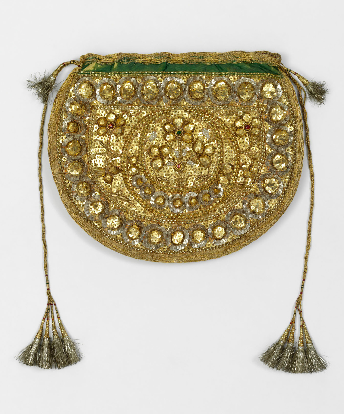 Gold purse with pearls, c.1855. Dehli, DR