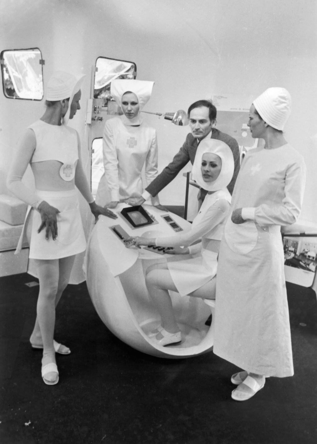 Une garde-robe futuriste. , Getty