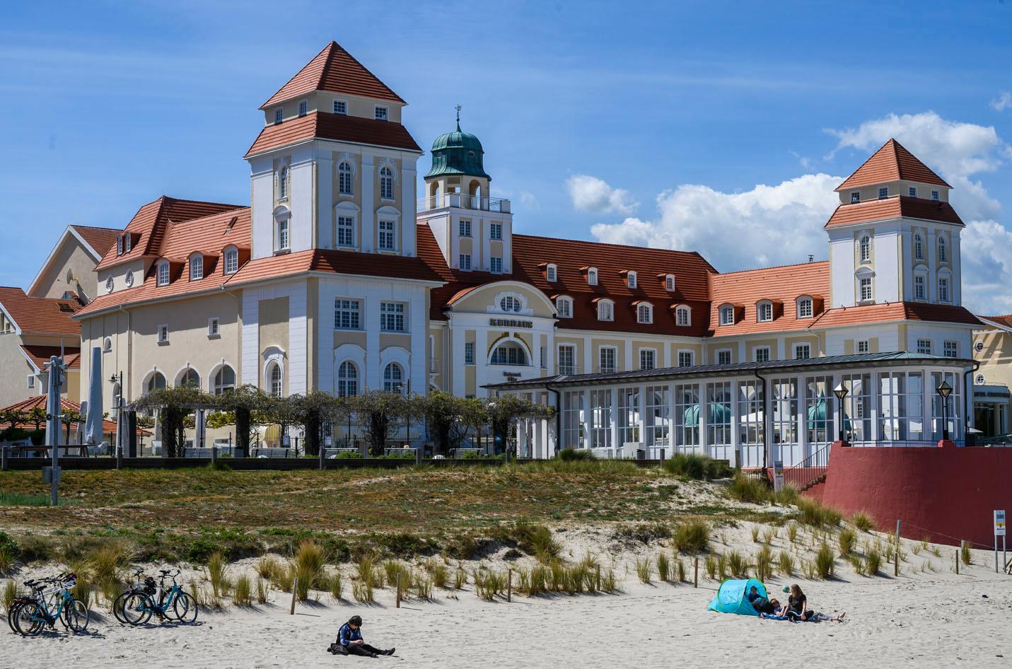 Le Travel Charme Kurhaus Hotel à Binz, AFP