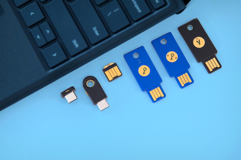 Yubico sleutels, .
