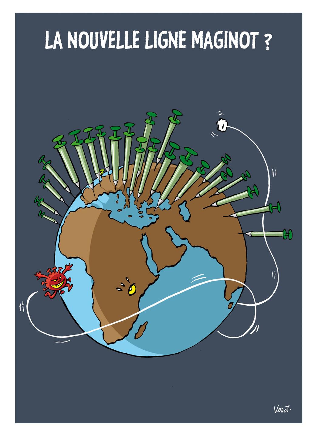 Alors que l'Occident veut vacciner toute sa population, même les plus jeunes, le tiers-monde est complètement à la traîne., Vadot