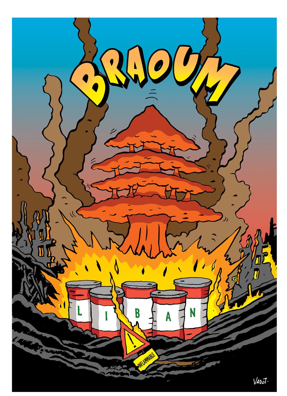 Après l'accident industriel de Beyrouth, les émeutes contre le pouvoir en place au Liban s'amplifient., Vadot