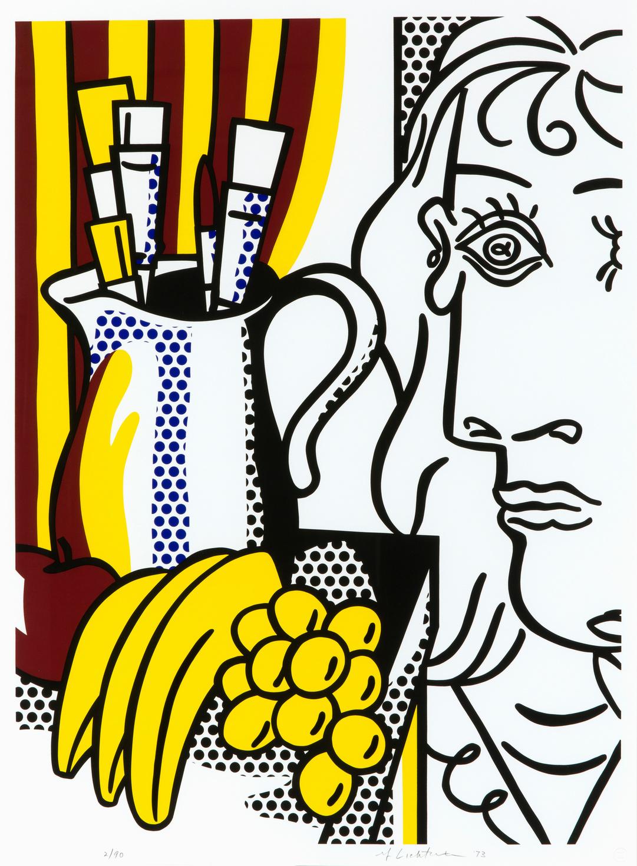 Roy Lichtenstein, Still life with Picasso, 1973, © Estate of Roy Lichtenstein / SABAM 2020