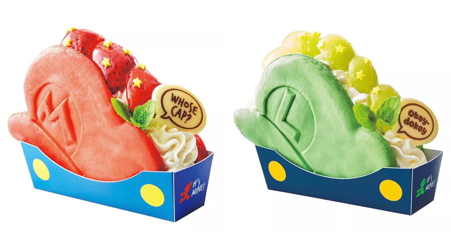 Een greep uit de snacks die eerdaags verkrijgbaar zullen zijn in het Nintendo themacafé in Universal Studio Japan., Nintendo