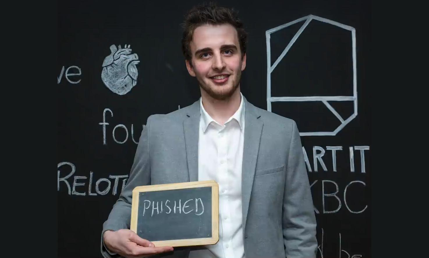 Phished-founder Arnout Van de Meulebroucke., Phished