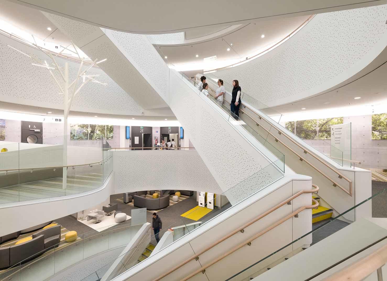 Le Chirec pour l'hôpital Delta à Auderghem, (Assar Architect)