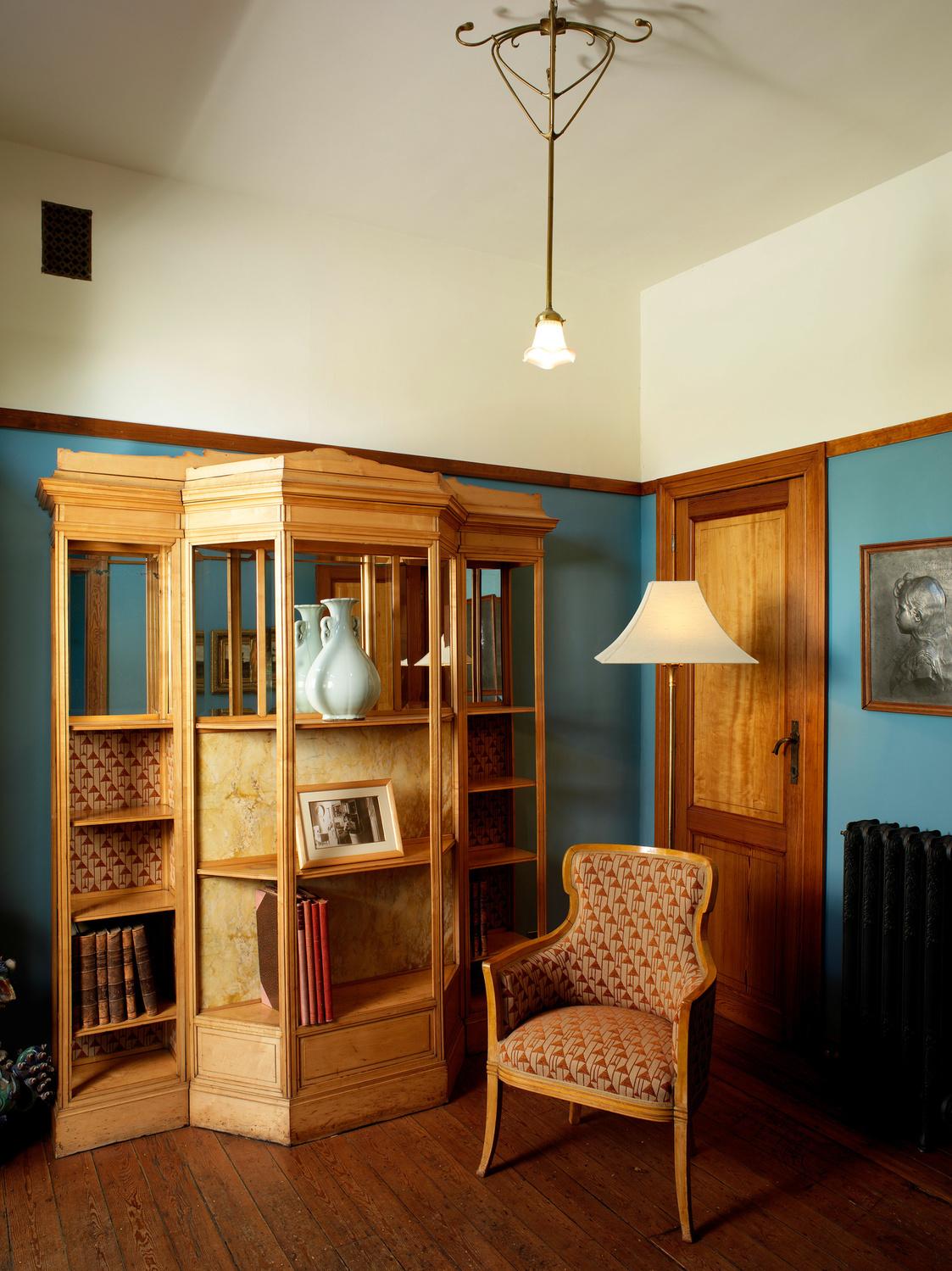 Een van de kamers van het Horta-museum, Paul Louis