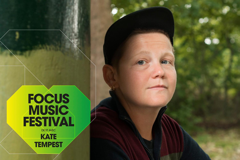 Kate Tempest, curatrice du Focus Music Festival, Eva Vermandel