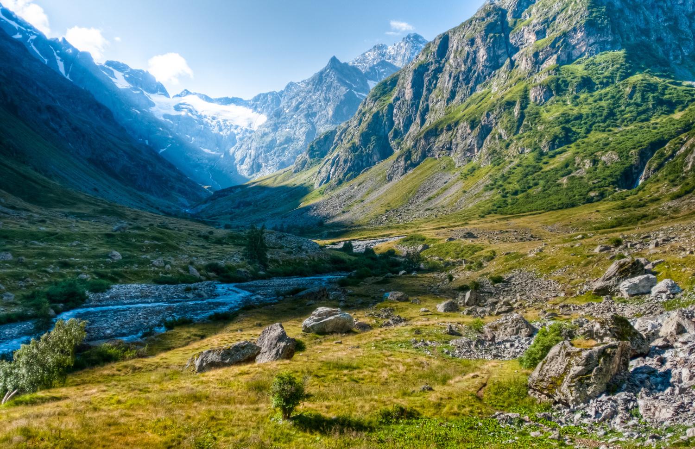 Parc naturel des Ecrins, au pied des Alpes, Getty Images