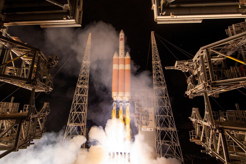 Lancement de la sonde Parker, le 12 août 2018 depuis Cap Canaveral., NASA/Bill Ingalls/Handout via REUTERS