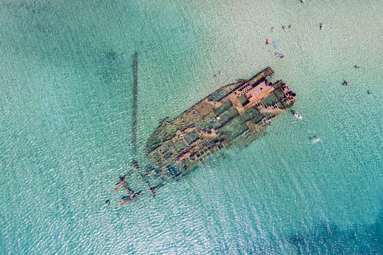 Epave au large d'Epanomi en Grèce, Getty Images