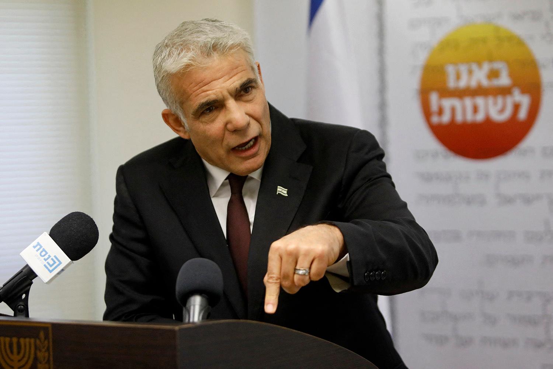 Yaïr Lapid, Gil COHEN-MAGEN / AFP