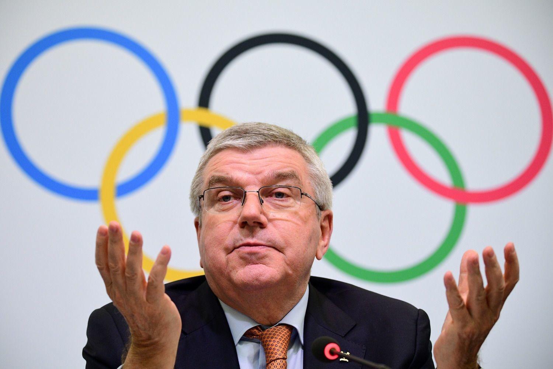 Thomas Bach, président du CIO., AFP/Martin Bureau